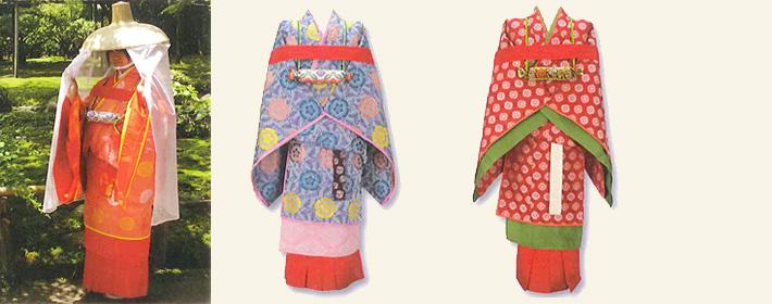 奈良時代 -時代衣裳あれこれ- お祭り、大好き!